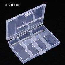 Мини-держатель с зажимом, Диспенсер, шкатулка для ювелирных изделий, пластиковая прозрачная монета, таблетница, бумажный зажим, коробка для хранения