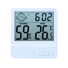 FACE Digital Hygrometer Indoor  Humidity Meter Gauge with Alarm Clock Voice Control Room Thermometer Humidity Monitor цена