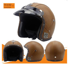 цена на Motorcycle Helmets Electric Bicycle Helmet Open Face  Men Women Summer Scooter Motorbike Moto Bike Helmet