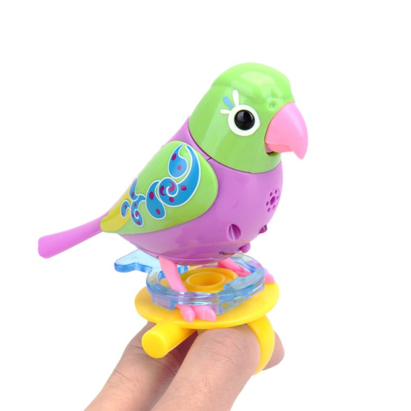 Funny Music Bird Electric Toys 20 Songs Singing Sound Birds Pets Sing Solo Intelligent Music Toys For Kids wee sing bible songs