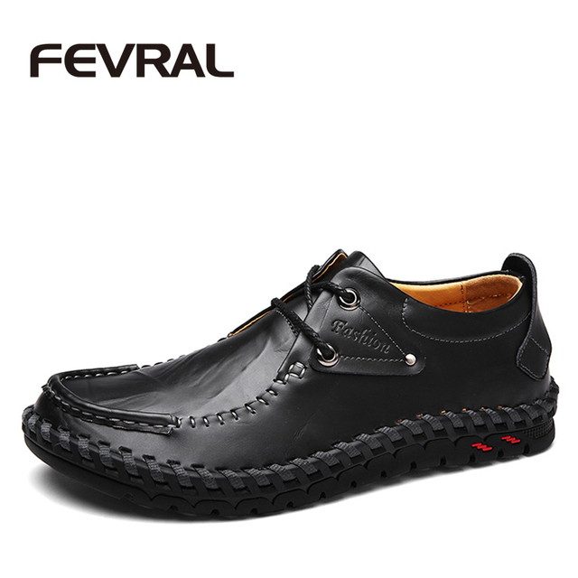 Stylish Outdoor Comfortable Leather Casual Shoes free shipping really clearance sale rxGcdWB3q