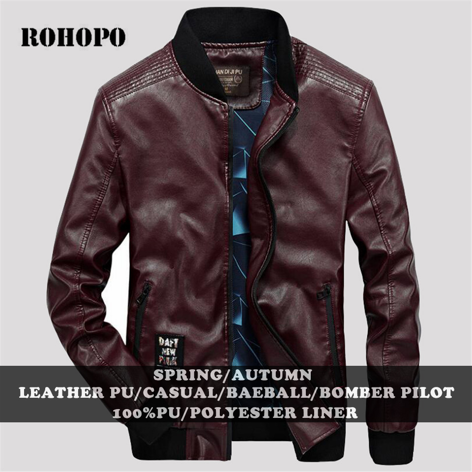 Bebone Childrens Collar Motorcycle Leather Coat Boys Faux Leather Jacket