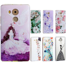16 partterns Soft Back case for Huawei mate 8 cover,Soft Cover fashion phone cases mate8