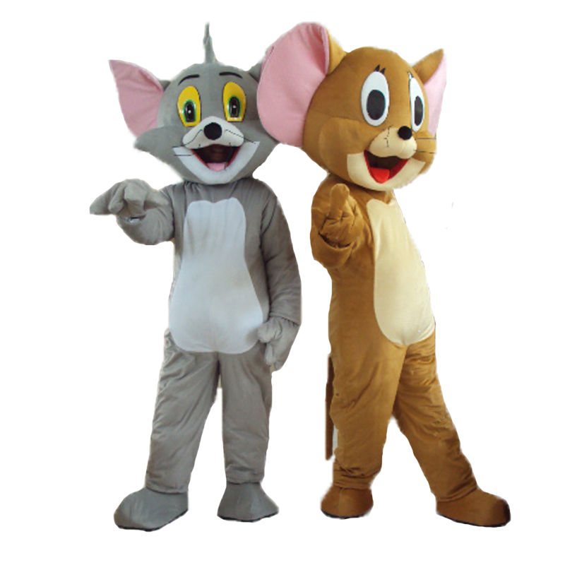 on sale fast shipping lowest price high quality tom and jerry mascot Costume