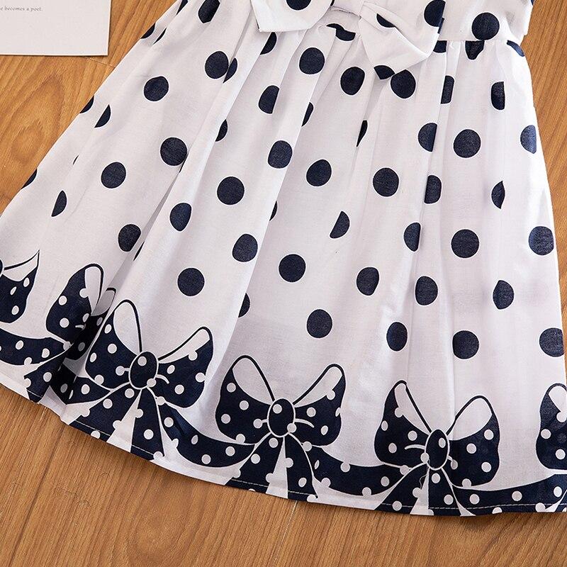 HTB1 8yDbQ9E3KVjSZFGq6A19XXaV 3-12 Years Girls Polka-Dot Dress 2019 Summer Sleeveless Bow Ball Gown Clothing Kids Baby Princess Dresses Children Clothes