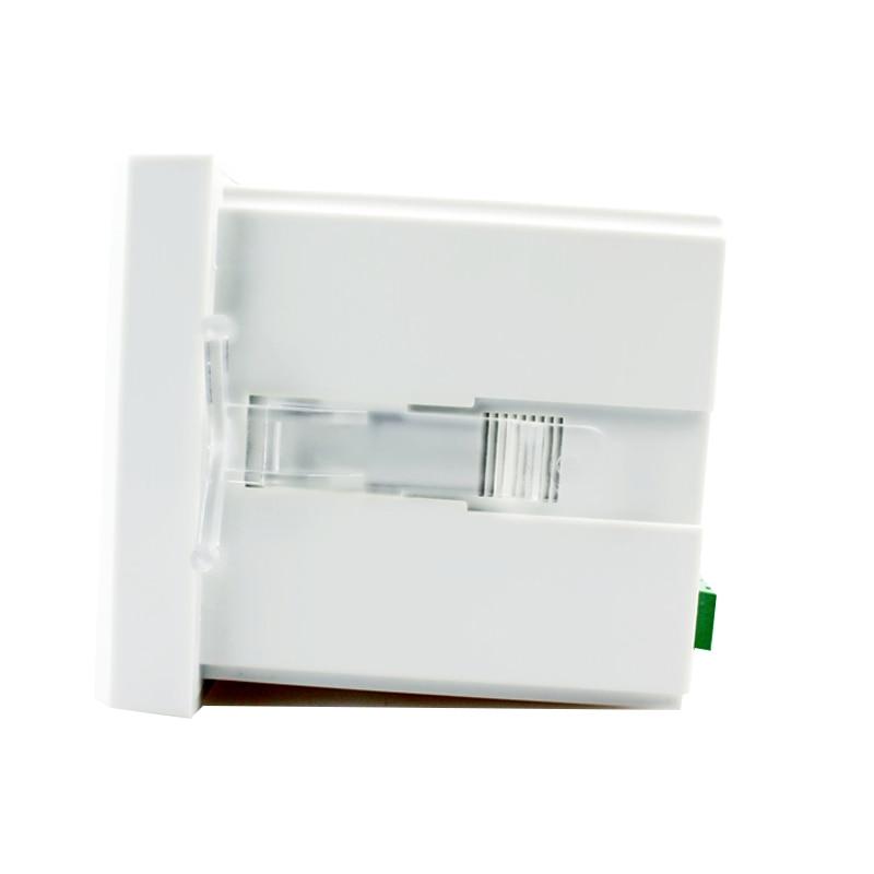 DA61 size 72*72 mm AC 220V LED digital display dc China ammeter support switch input