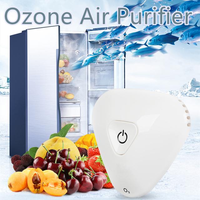 Ozone Generator Air Purifier Home Cleaner Air Sterilizer Remove Odor Formaldehyde Sterilization Refrigerator Kitchen Cabinet