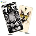 Luxury Cartoon UV Print Case For Lenovo S898T S8 Fundas Phone Cover For Lenovo S898T S8 Hard Plastic Painting Capa Coque