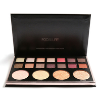 18 Colors Eyeshadow Palette Matte Diamond Glitter Matallic Eye Shadow In One Palette Blush Earth Color