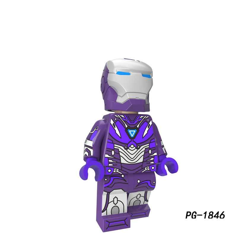 Legoing Super Heroes Iron Man Batman Joker Spiderman Hulk Captain America Spiderman Model Building Kits Toy For Children