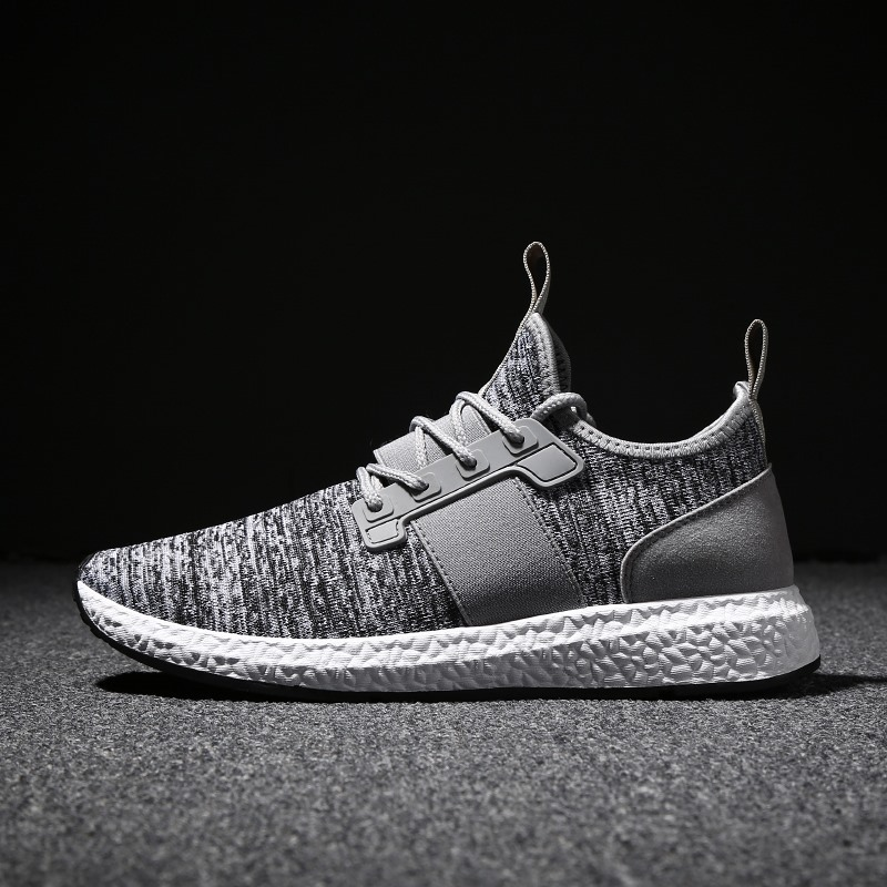 TBA Man's Super Light Running Shoes Mesh Breathable Summer Gentlemen Sneakers Very Comfortable Textile Comfort Kids Sports Shoes apple summer new arrival men s light mesh sports running shoes breathable fly knit leisure comfortable slip on sneakers ap9001