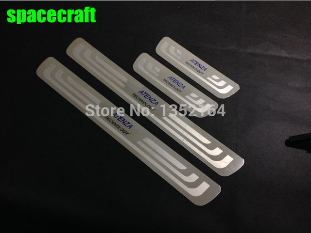 Auto Door sills/sill plate scuff plate for Mazda 6 atenza 2014 2015 2016, stainless steel,auto accessories