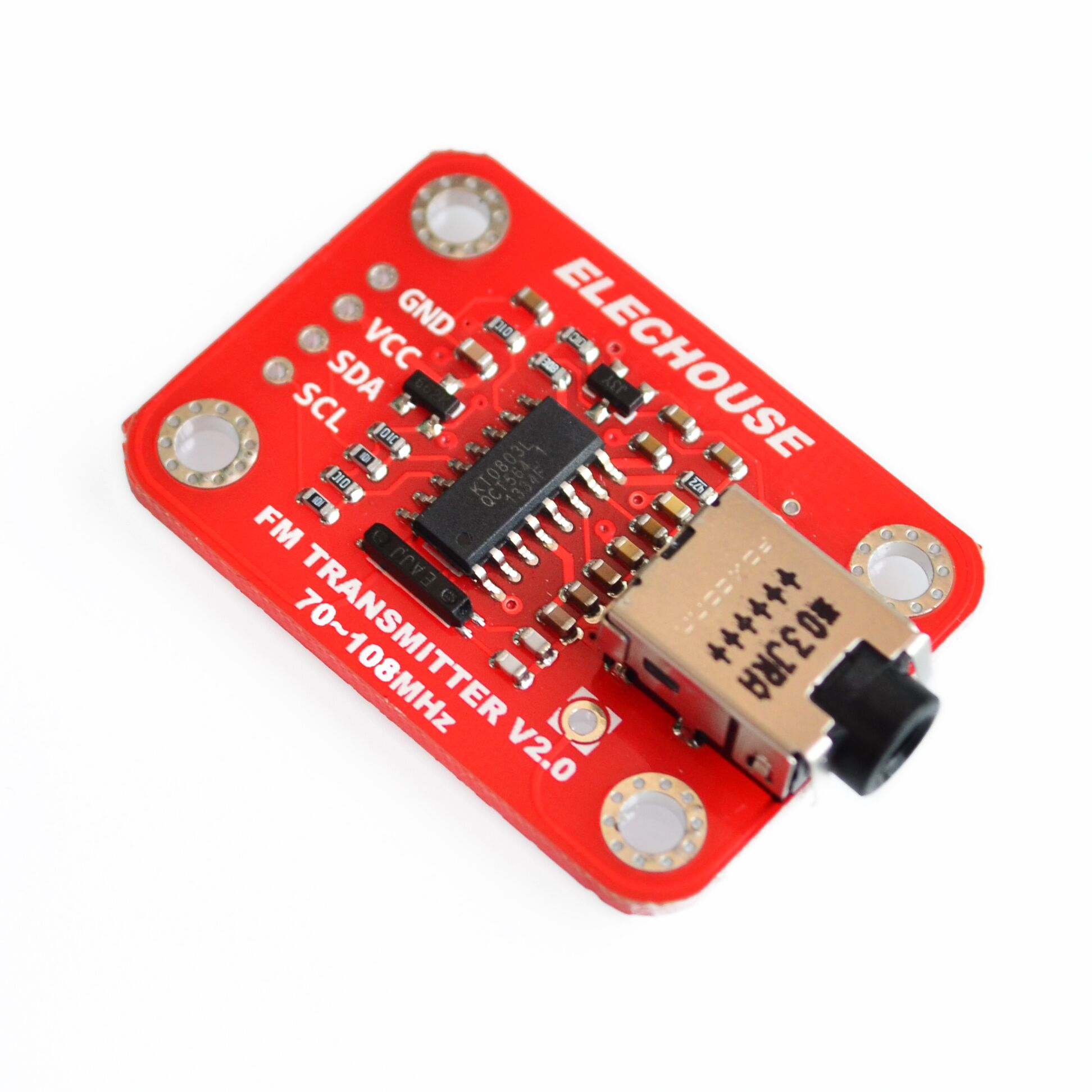Mcu Digital Frequency Stabilization Stereo Fm Radio Receiver 70 25jc Ic Package Chip Ba1404 Programmable Integrated Circuit Transmitter Module Station