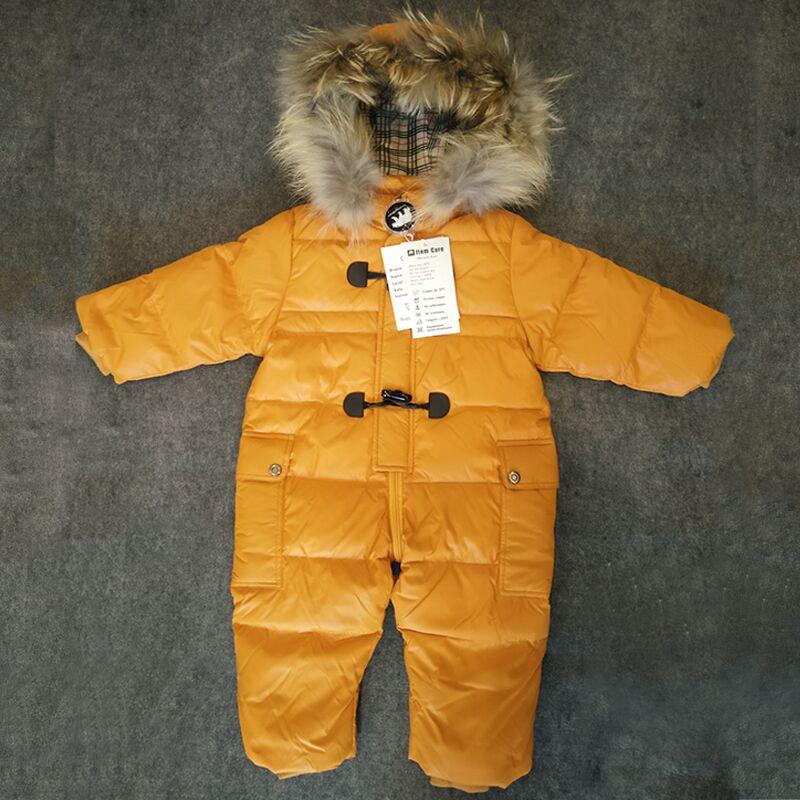 b6e763289 Dropwow Designed for Russian winter baby snowsuit