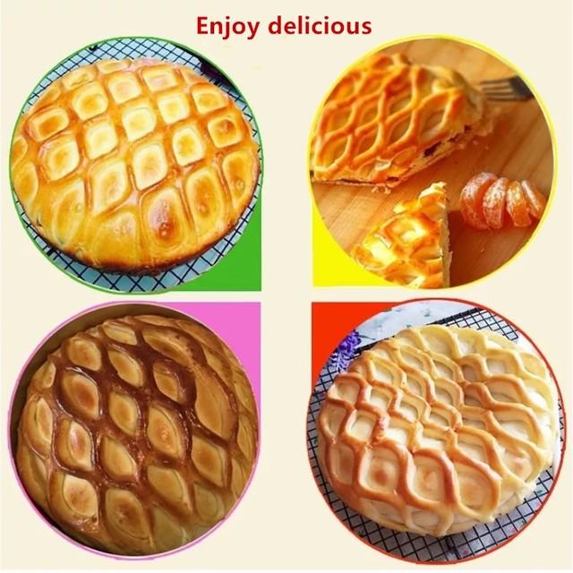 Kitchen Dough Pie Cookie Reticulate Lattice Cutter