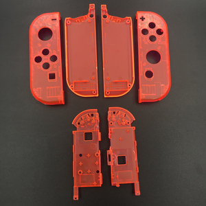 Image 3 - 10sets Plastic Joy Con Housing Case Cover For Nintendo Switch Clear Custom Controller Shell Colorful Buttons