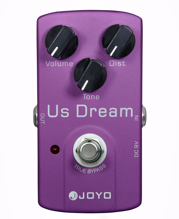 NEW JOYO JF-34 Guitar Effects Pedals, US Dream/True bypass design / wholesale joyo guitar effects pedals jf 32 hot plexi true bypass design wholesale cheap free shipping