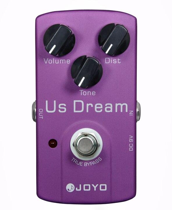 Nouvelles pédales d'effets de guitare JOYO JF-34, rêve américain/conception de contournement véritable/vente en gros