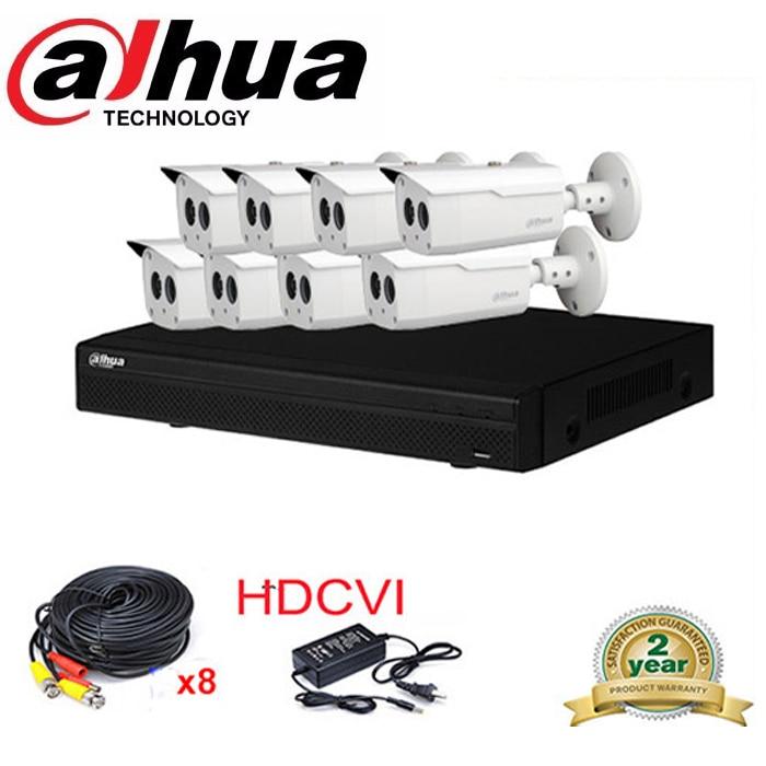 Dahua HCVR7108H-S2 8Ch 2MP HD 1080P HDMI CVI system DVR Kit with 8x 1080P DH-HAC-HFW1200B IR Security HDCVI Camera System narinder kumar sharma h p singh and j s samra poplar and wheat agroforestry system