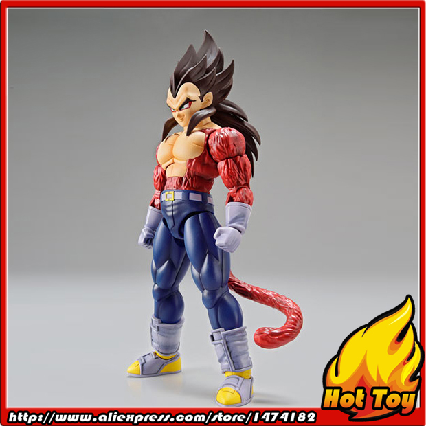Original BANDAI Tamashii Nations Figure-rise Standard Action Figure - Super Saiyan 4 Vegeta Plastic Model from Dragon Ball GT free shipping super big size 12 super mario with star action figure display collection model toy