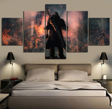Modular Hd Prints Pictures Paintings 5 Panel Devil Mar Cry Home Decoration Canvas Poster Wall Artwork For Living Room Frame