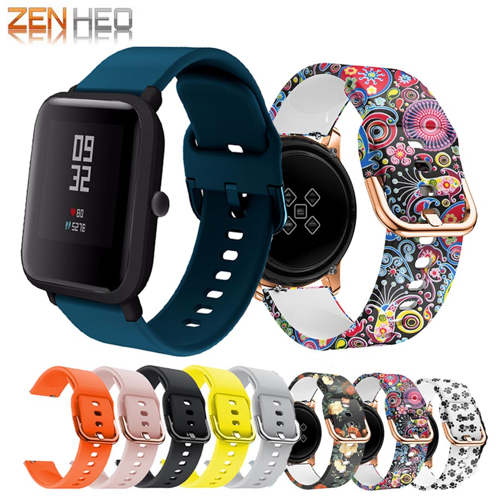 For Amazfit Bip Strap Smartwatch Bracelet Band For Xiaomi Amazfit Lite Bracelets Wrist Belt For Samsung Galaxy Active 2 44/40mm