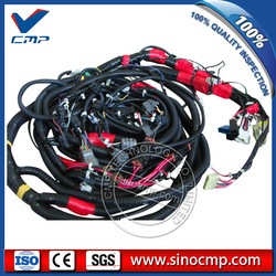 PC200-7 do koparek kompletny kable w wiązce dla Komatsu