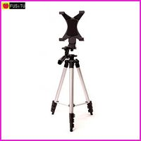Fusitu FT 810 50 Inch Aluminum Camera Tripod With Universal Tablet Holder Mount Fits For 7