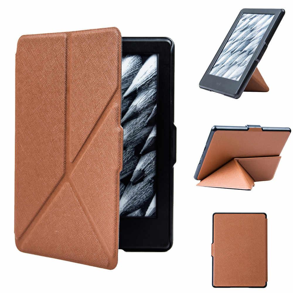 Новые однотонные чехол для планшета с запахом-доказательство кобура для Amazon Kindle 8th поколения 6-дюймовая Мини Смарт Супер магнитный фонарь крышка