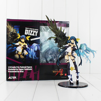 12 31cm Hot Game Anime Alter Guilty Gear XX Acore Dizzy Yaguy Toshiyuki 1/8 Scale Pre Painted Sexy PVC Action Model Figure