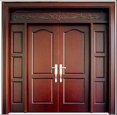 Popular main door designs buy cheap main door designs lots for Wooden double door designs for main door