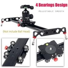 Ashanks 100cm 4 Bearings Camera Slider Track Carbon Fiber DV Camera Video Stabilizer Rail Track Slider For DSLR or Camcorder