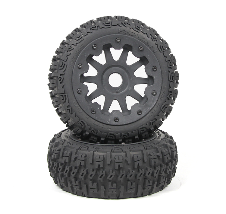baja 5b front knobby wheels set 95192 baja 5b off road front wheels set only 2pc front