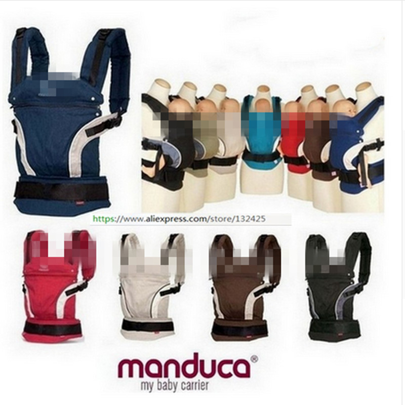 Manduca Organic Cotton Baby Carrier 3 position Infant Carriers Sling Baby Suspenders Classic Kids Backpack with box package erbaviva organic cotton baby bib