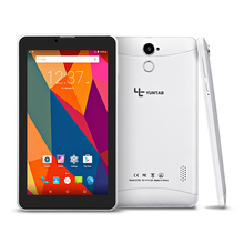 Yuntab Nueva E706 Android 5.1 de 7 pulgadas tablet PC de pantalla táctil 1024*600 Tablet PC Quad-Core Dual cámara WiFi/Bluetooth 2800 mAh