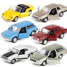 Coche clásico retro de la vendimia brasileña de la alta simulación, juguetes del coche del tirón trasero de la aleación 1:38, modelo de la colección, envío gratis