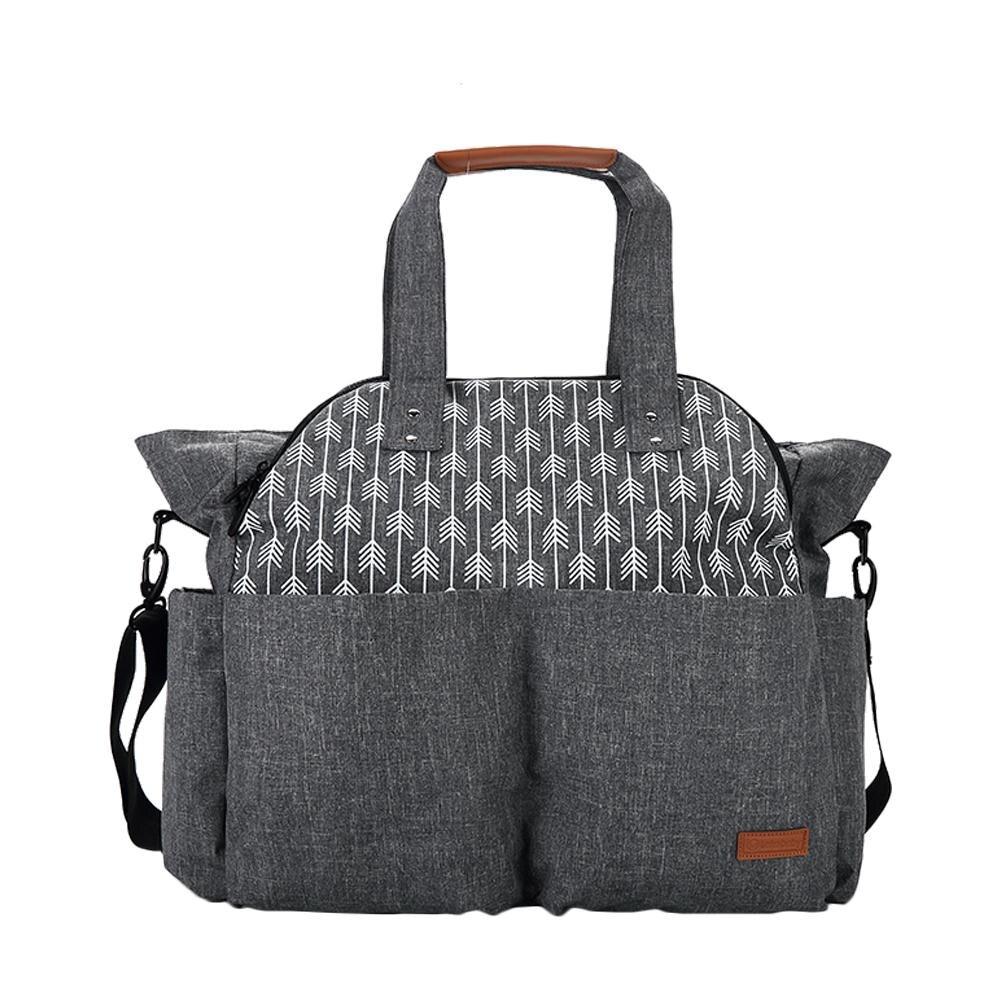 Large-capacity Mummy Bag Multi-functional Waterproof Travel Portable Crossbody Bag Baby Diaper Bag Hanging On Baby Car