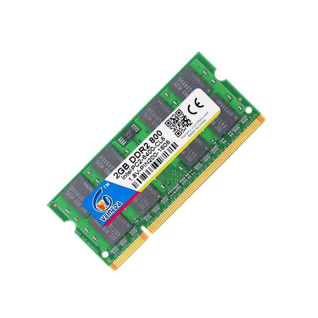 VEINEDA ddr2 2 ГБ 800 память оперативная память sodimm ddr 2 Совместимость Intel и AMD 667 533 Mobo 3