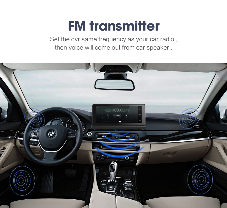 4g bluetooth car dvr gps navigation dual camera android 50 686 4g3 fandeluxe Image collections