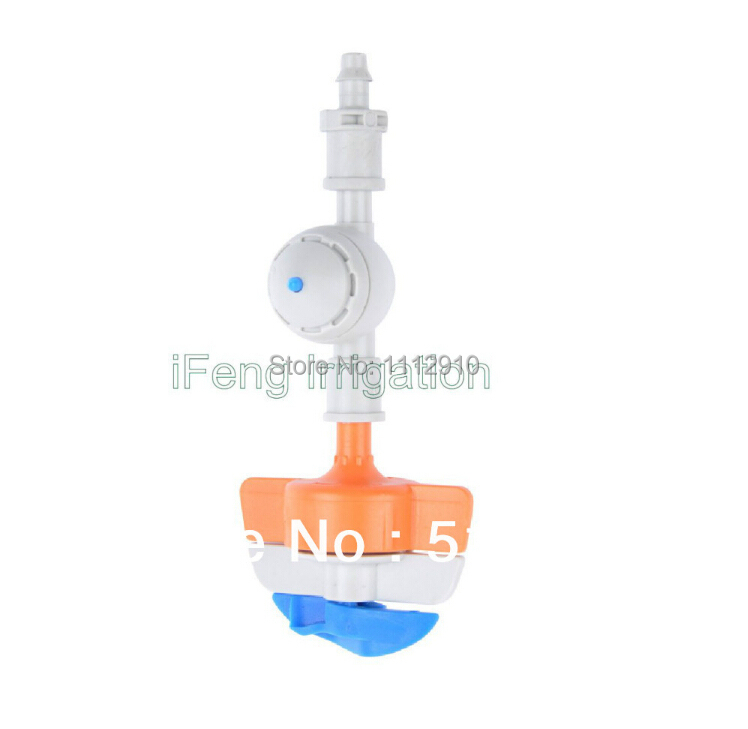 Free shipping <font><b>20</b></font> pcs-pack spinnet the hanging micro sprinkler <font><b>set</b></font> in green house without <font><b>hose</b></font> and weight