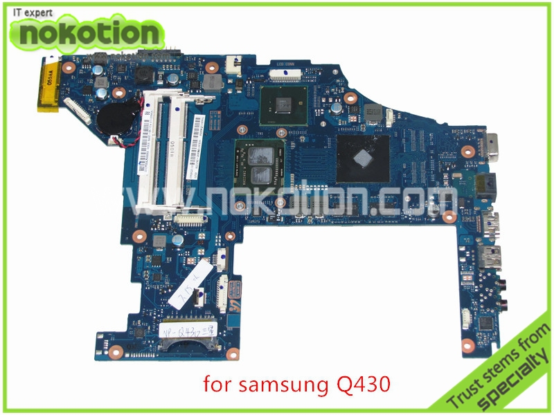 Mainboard BA92-06772A BA92-06772B For samsung Q430 Q530 laptop motherboard intel HM55 I5-450M GeForce GT310M DDR3 ba92 05127a ba92 05127b laptop motherboard for samsung np r60 r60 ddr2 intel ati rs600me mainboard