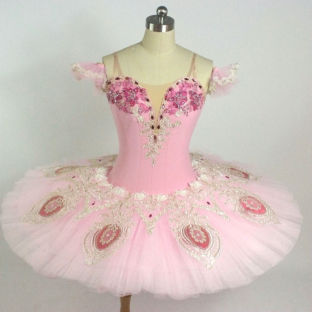 72b7420ed Adult Professional Ballet Tutus Pink Pancake Platter Classical Ballet  Costumes Women Nutcracker Performance Tutu Ballet Dress-in Ballet from  Novelty ...