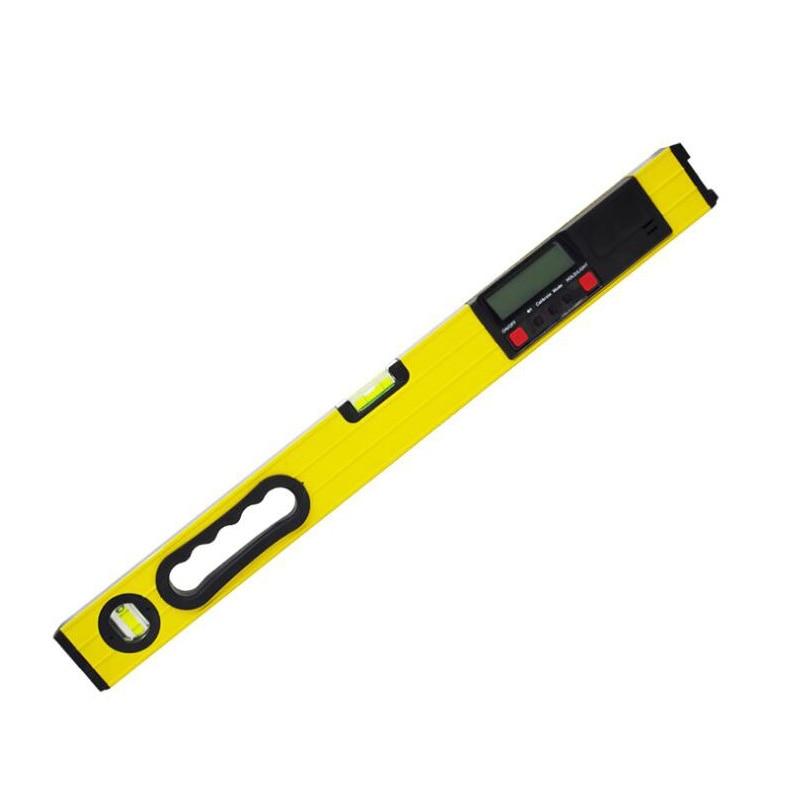 Digital Goniometer 0-600mm Display Square Ruler Miltre LCD Level Protractor