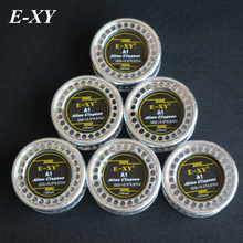 E-XY 5m/roll 32G+0.3*0.8 Flat Alien Clapton Wire for RDA RBA Rebuildable Atomizer Heating Wires Coil Tool Alien Clapton Heating
