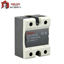 DELIXI CDG1-1 10A 20A 40A 60A 80A 100A один SSR твердотельные реле DC-AC управления постоянного тока переменного тока без контакта