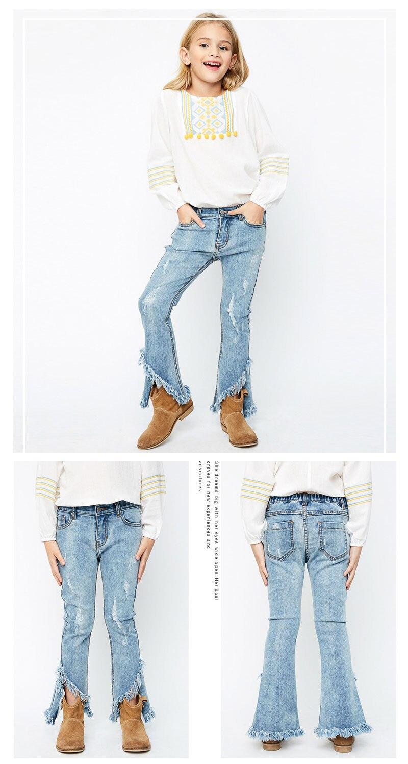 flare jeans girl G2100-9