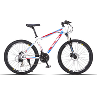 SHANP MOUNTAIN BICYCLE Carbon Steel VARIABLE 24 Speed 26 Inch Double Disc Brakes Men And Women