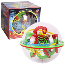 3D Maze Ball Maze Puzzle Kids Children Spherical Maze Intellectual Ball Balance Game and Puzzle Educational Toy Gift жилет maze