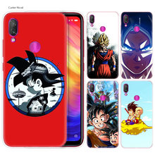 Силиконовый чехол для Xiao mi Red mi Note 7 6 5 Plus mi A2 8 Lite Pro Prime Play, чехол для телефона s, чехол Dragon Ball Z, аниме Goku Super Draw(China)