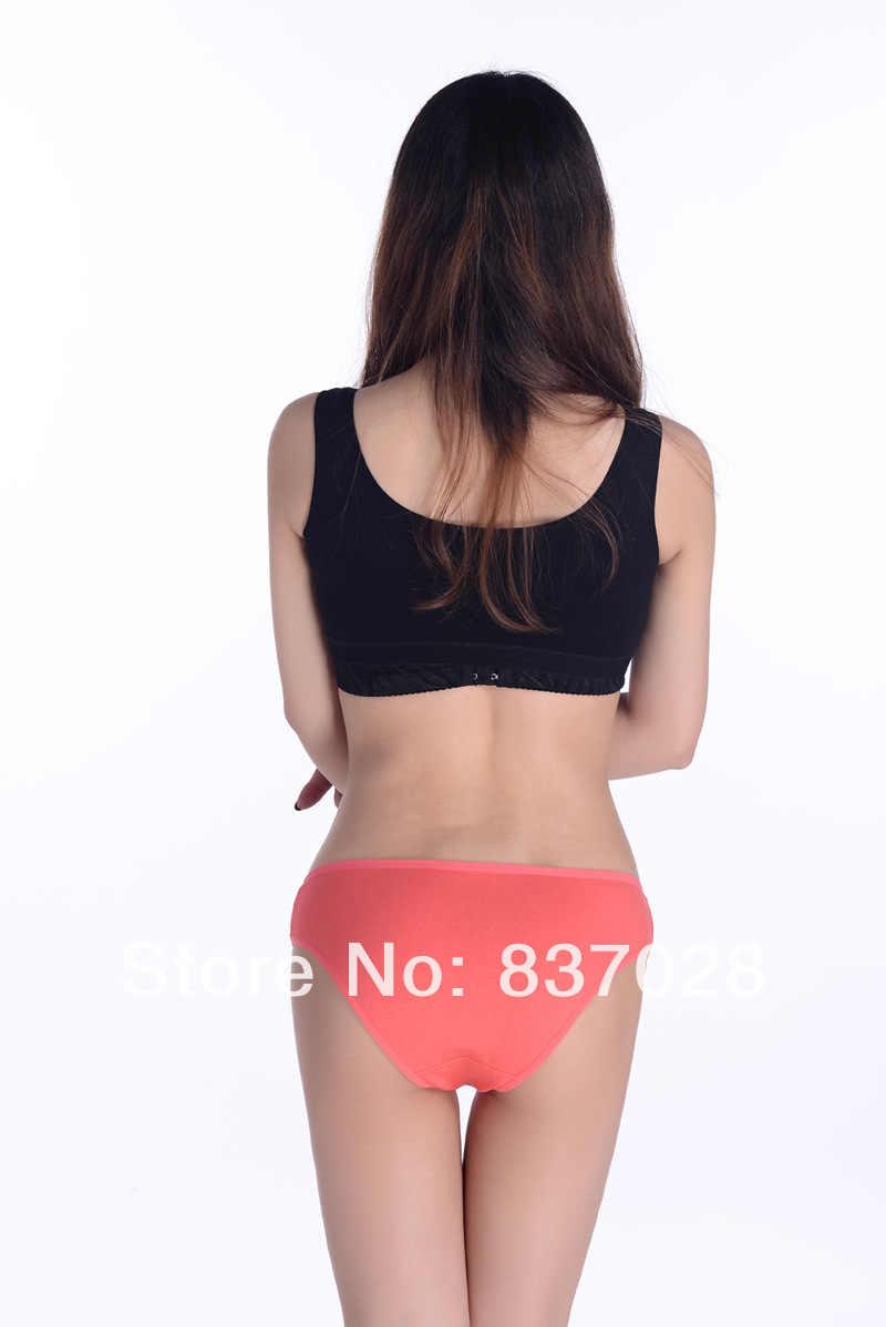 Бесплатная доставка женские пикантные трусики полный сексуальные 100% хлопок дамы Штаны печати трусы мило белье 5 шт./лот 86617